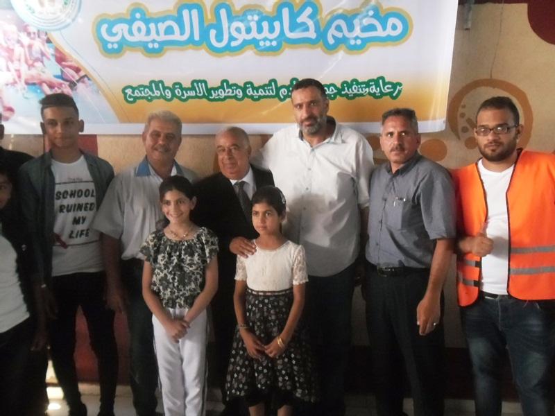 جمعية آدم تفتتح مخيم كابيتول الصيفي الأول بخان يونس Sam_3311