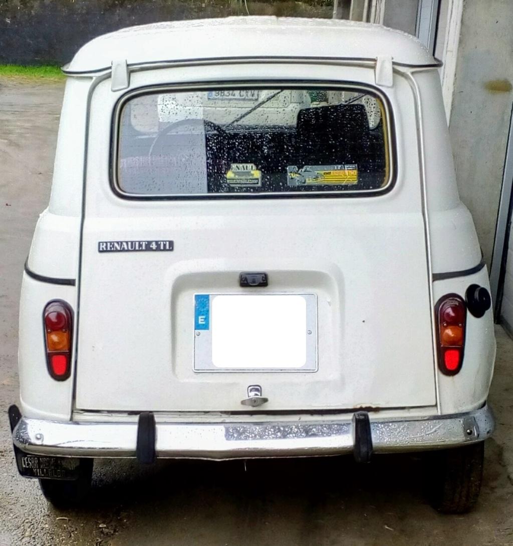 [ OTROS BÓLIDOS ] La nueva locura de Leoncio - Renault 4 TL 4l110