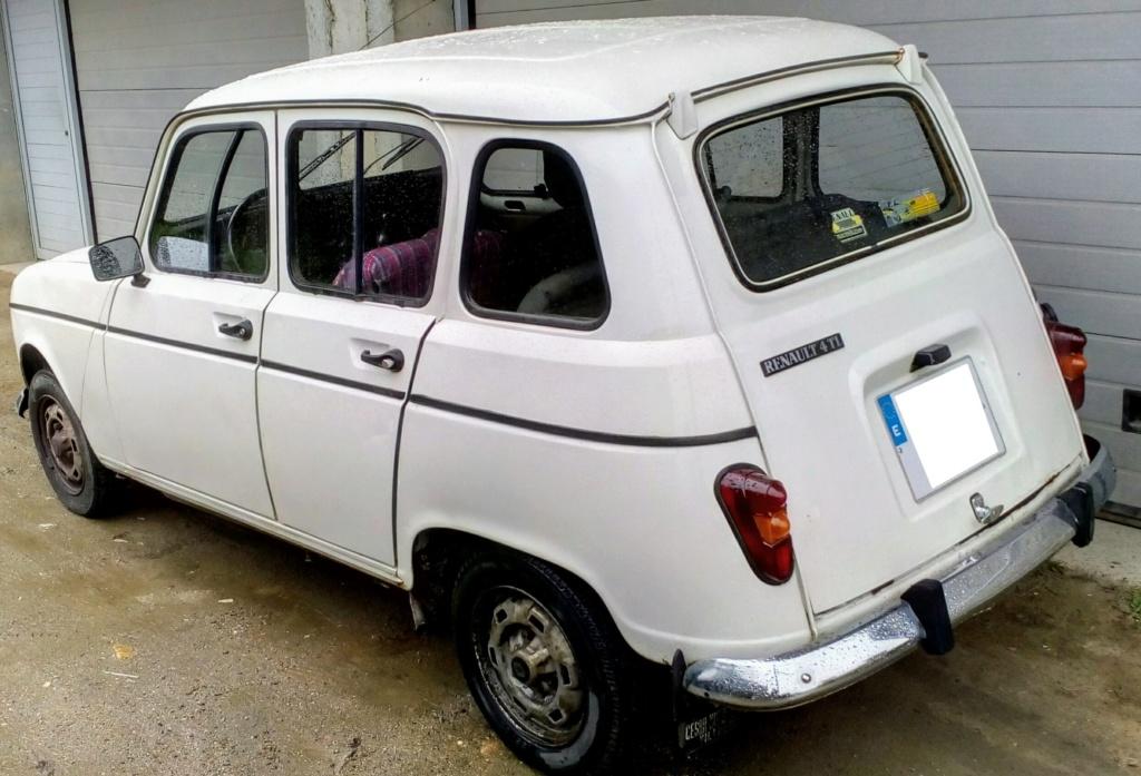 [ OTROS BÓLIDOS ] La nueva locura de Leoncio - Renault 4 TL 4l210