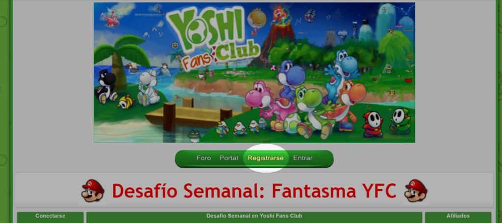 Cómo registrarse en Yoshi Fans Club 115