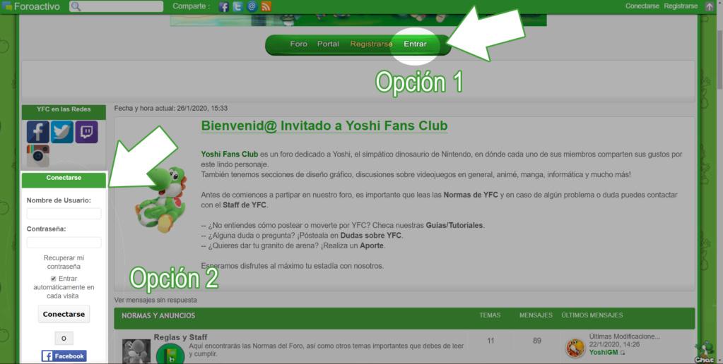 Cómo registrarse en Yoshi Fans Club 913