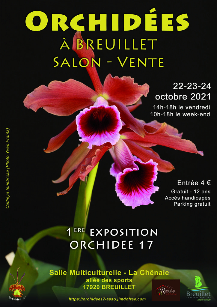 1ere exposition d'Orchidée17 en pays royannais  Octobre 2021 Aff_o110