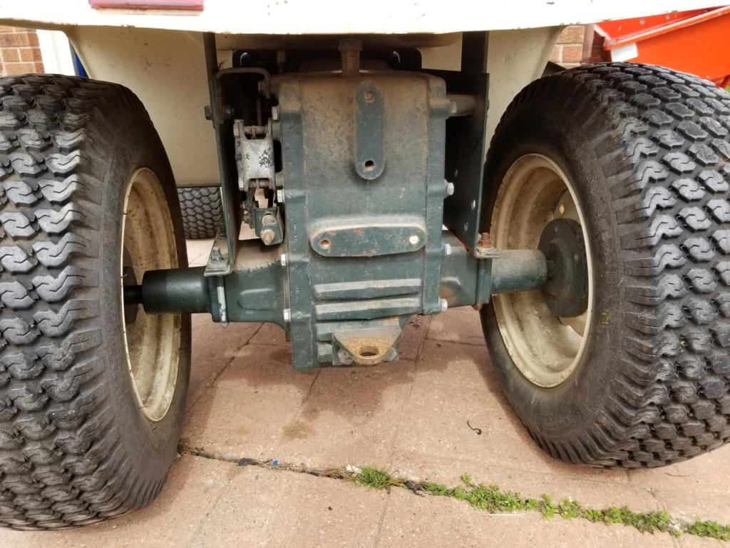 Bolens 1668 Diesel Conversion. 20200518