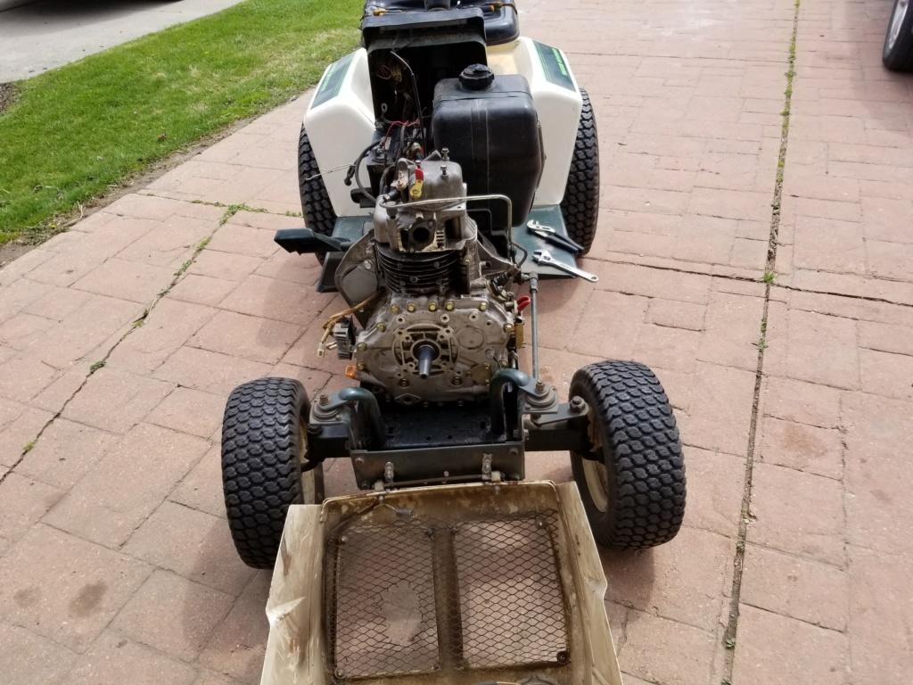 Bolens 1668 Diesel Conversion. 20200520