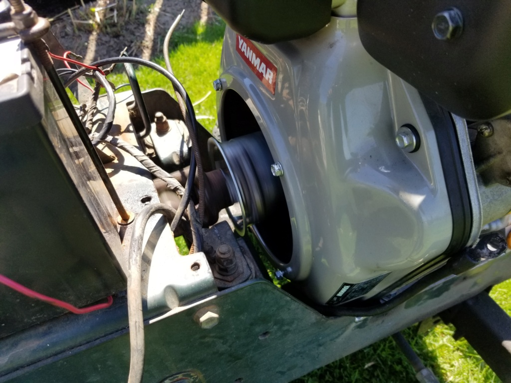 Bolens 1668 Diesel Conversion. 20200536