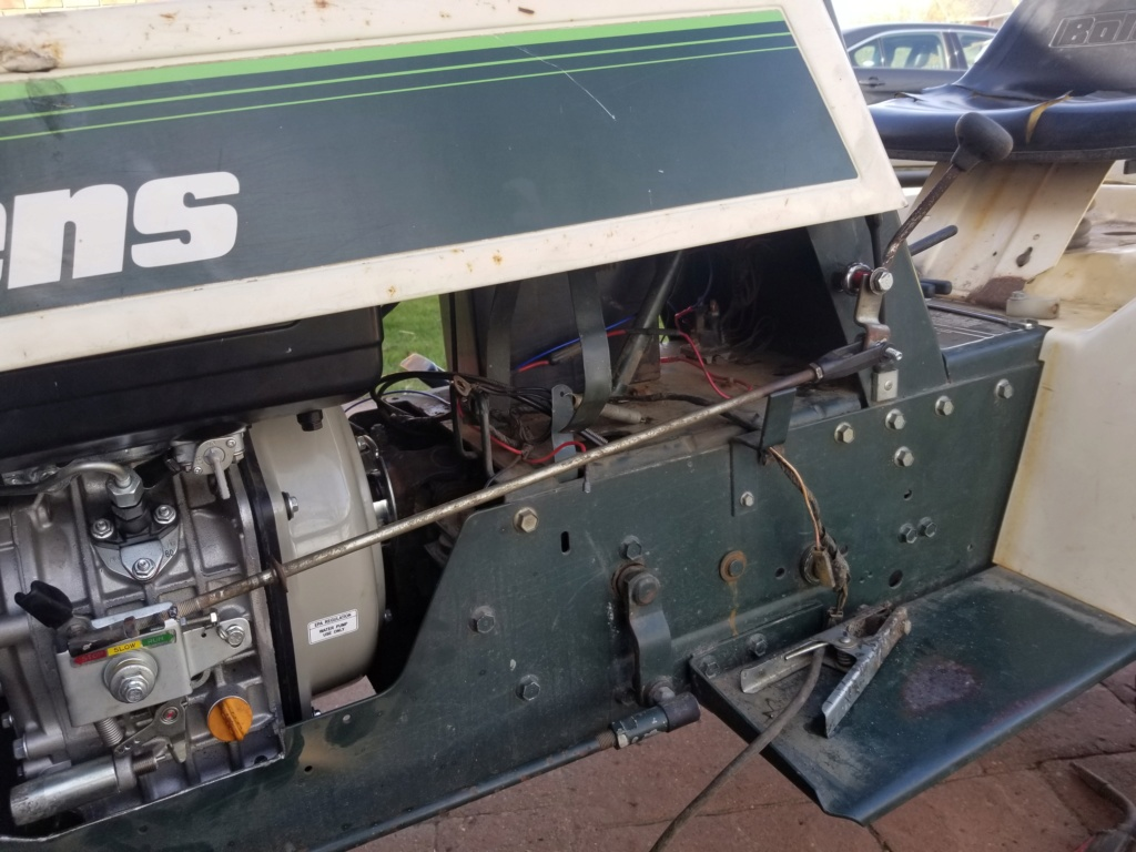 Bolens 1668 Diesel Conversion. 20200537