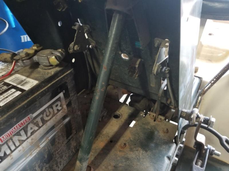 Bolens 1668 Diesel Conversion. 20200539