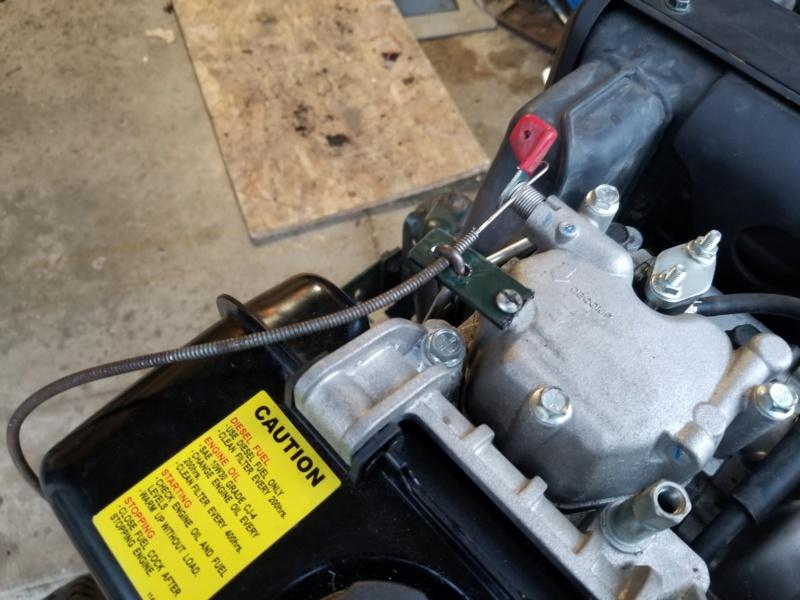 Bolens 1668 Diesel Conversion. 20200540