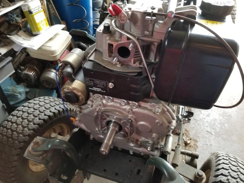 Bolens 1668 Diesel Conversion. 20200546