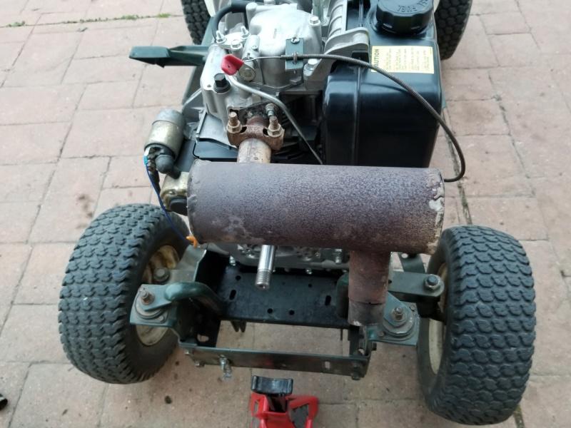 Bolens 1668 Diesel Conversion. 20200550