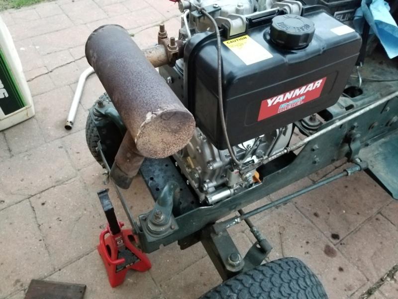 Bolens 1668 Diesel Conversion. 20200551