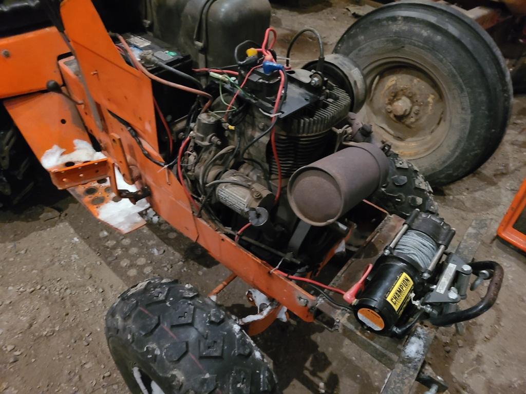 Allis 716 Off-Road Build 20210216