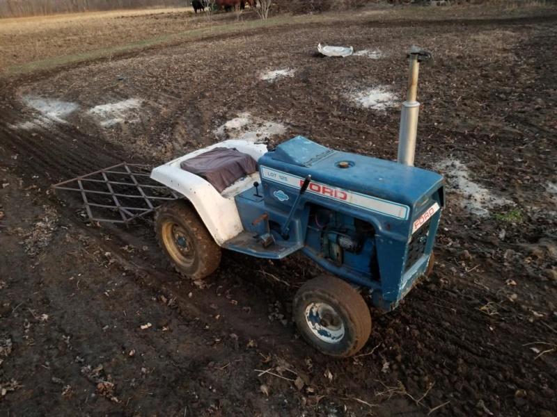 Garden Tractor Collection Post-717