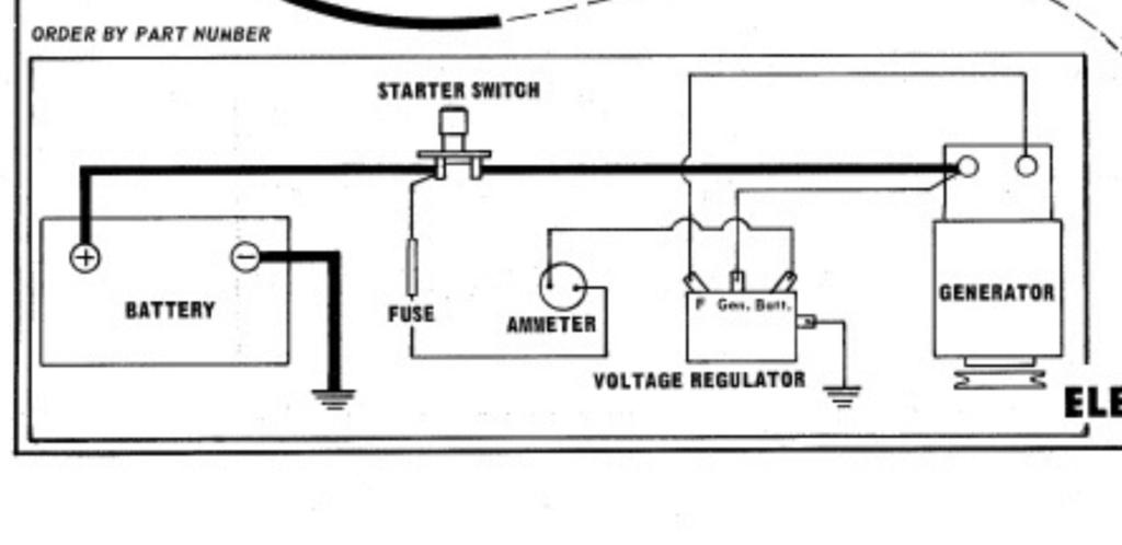 Rewiring 15hp Cast Iron Briggs With Starter Generator  Screen26