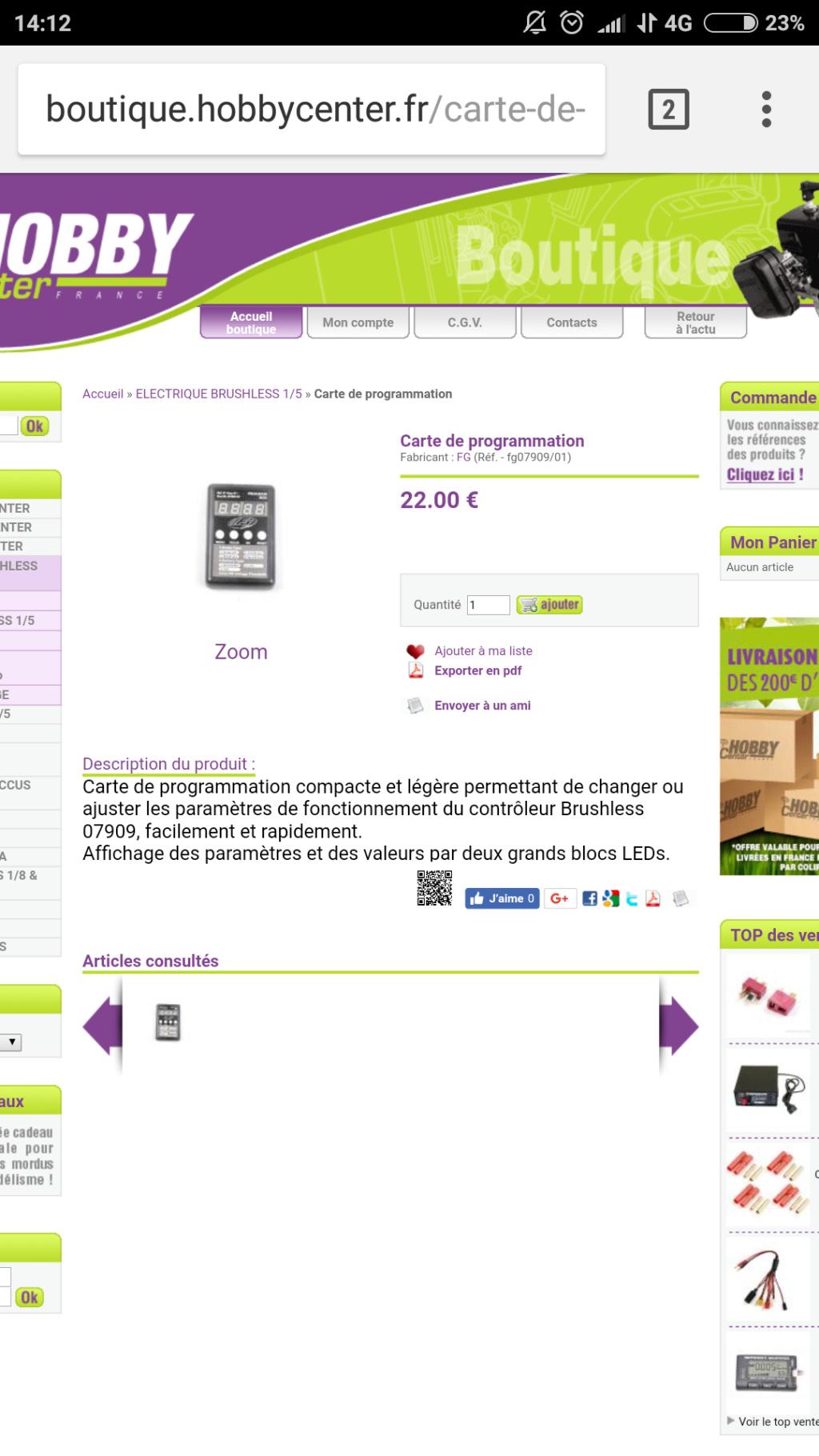 Contrôleur brushless ET 07909 Screen13