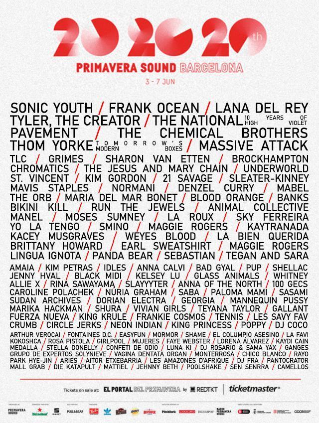 Primavera Sound 2020. Pavement, Kim Gordon, Mavis Staples, Bikini Kill, Chromatics - Página 10 4fb73510