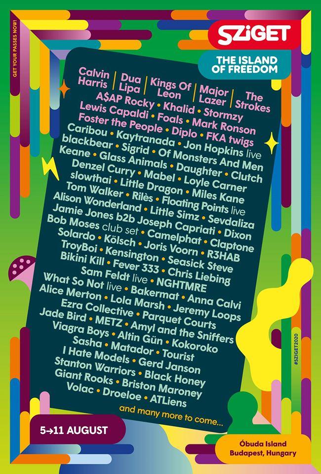 Mad Cool 2020 // Billie Eilish, Faith No More, Deftones, Anderson .Paak, Kali Uchis, Rex Orange County... 86174310