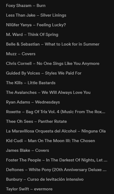 Agenda de lanzamientos y novedades musicales - Página 19 Discos10