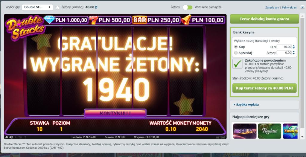 Screenshoty naszych wygranych (minimum 200zł - 50 euro) - kasyno - Page 17 Net110