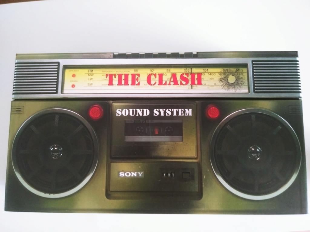 Caja The Clash-Sound System AUTOGRAFIADA 20190615