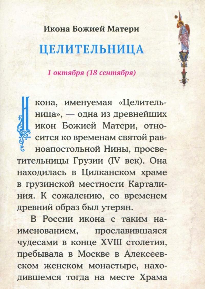 """ИКОНА БМ """"ЦЕЛИТЕЛЬНИЦА"""" Iaua110"""