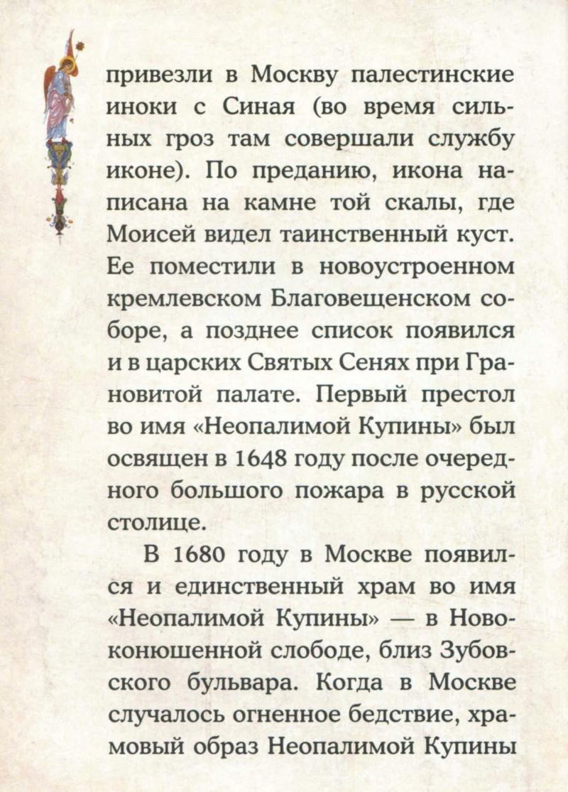 ИКОНА БМ НЕОПАЛИМАЯ КУПИНА U_a210