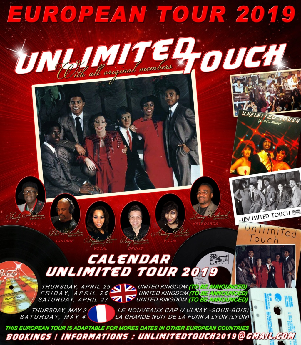Concert UNLIMITED TOUCH & FAT LARRY'S BAND 110