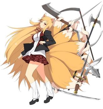 Regarde une feuille de personnage Kumiho10