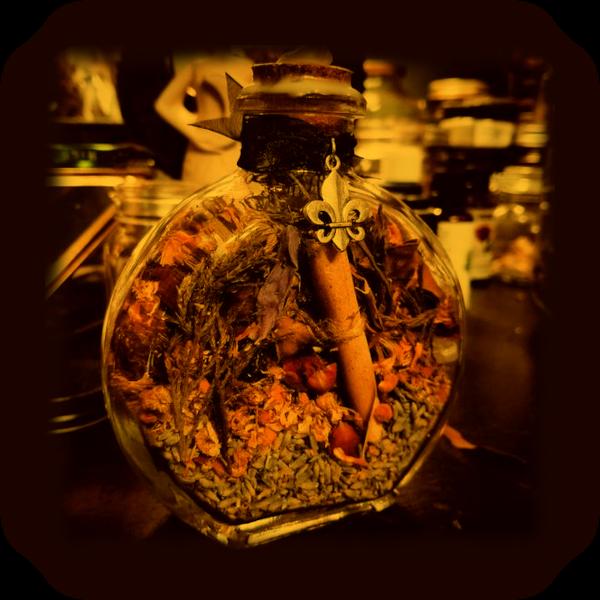 Магия очищения травами Ведьмовской Бутылки. 212