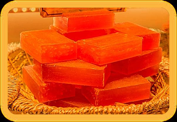 Рецепт натурального мыла ручной работы с морковным соком. O_a_310
