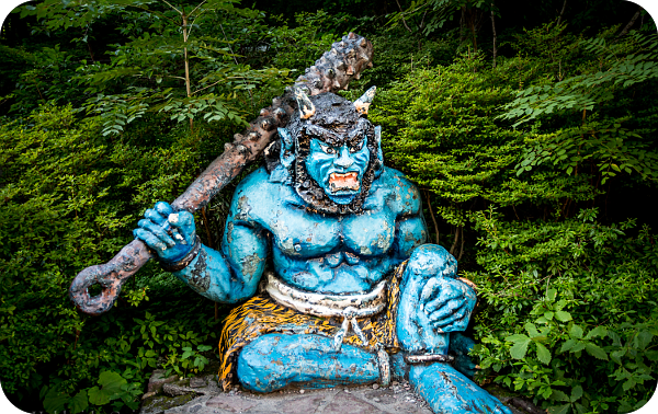 Обзор японских демонов. U__610