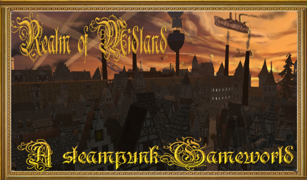 A Gameworld of Steampunk and Fantasy
