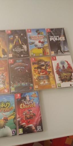 [Ech] Jeux Nintendo Switch 20190118