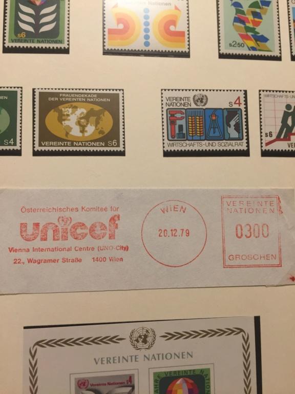 Tausch Marken/Belege UNO Wien 1993 - 2004 20181112