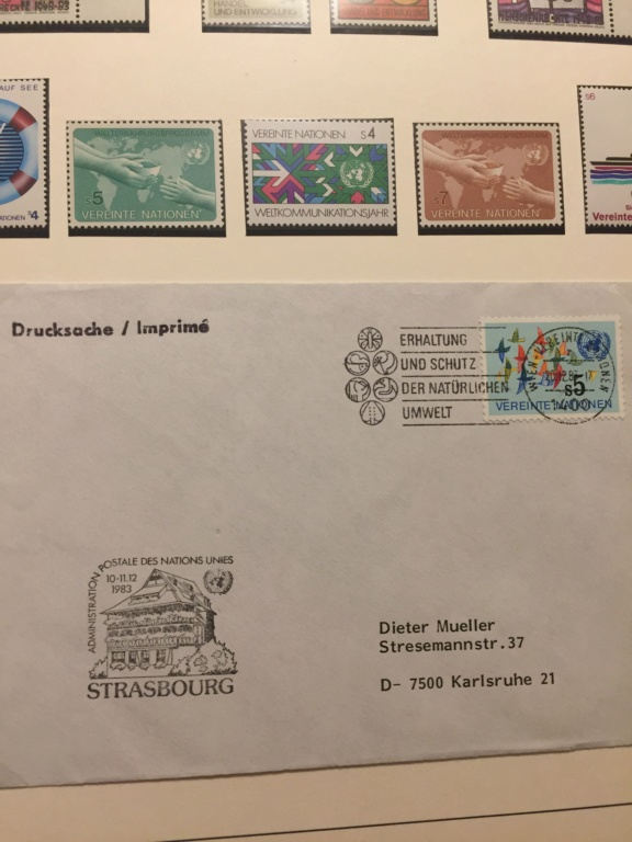 Tausch Marken/Belege UNO Wien 1993 - 2004 20181113