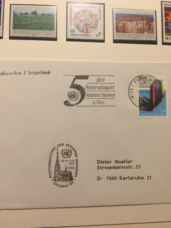 Tausch Marken/Belege UNO Wien 1993 - 2004 20181118