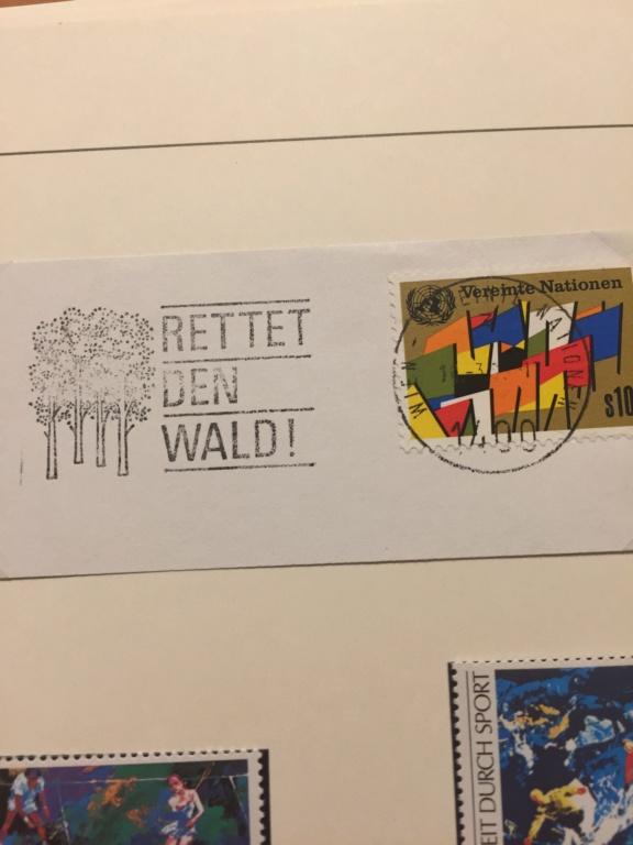 Tausch Marken/Belege UNO Wien 1993 - 2004 20181123