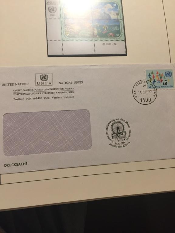 Tausch Marken/Belege UNO Wien 1993 - 2004 20181128
