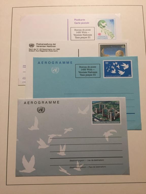 Tausch Marken/Belege UNO Wien 1993 - 2004 20181129