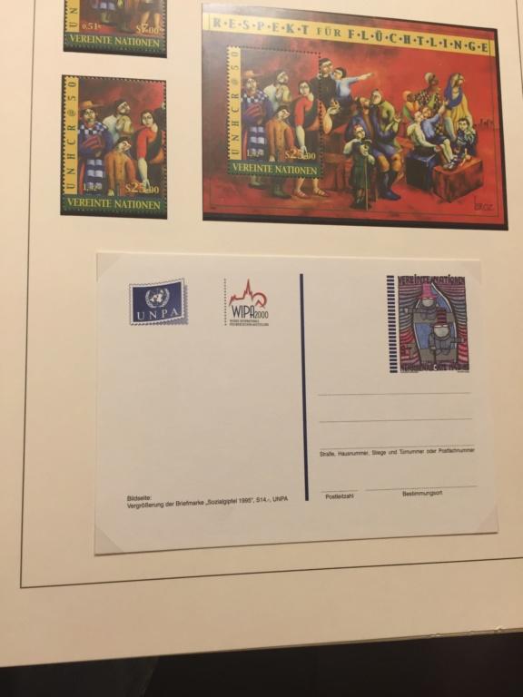 Tausch Marken/Belege UNO Wien 1993 - 2004 20181137