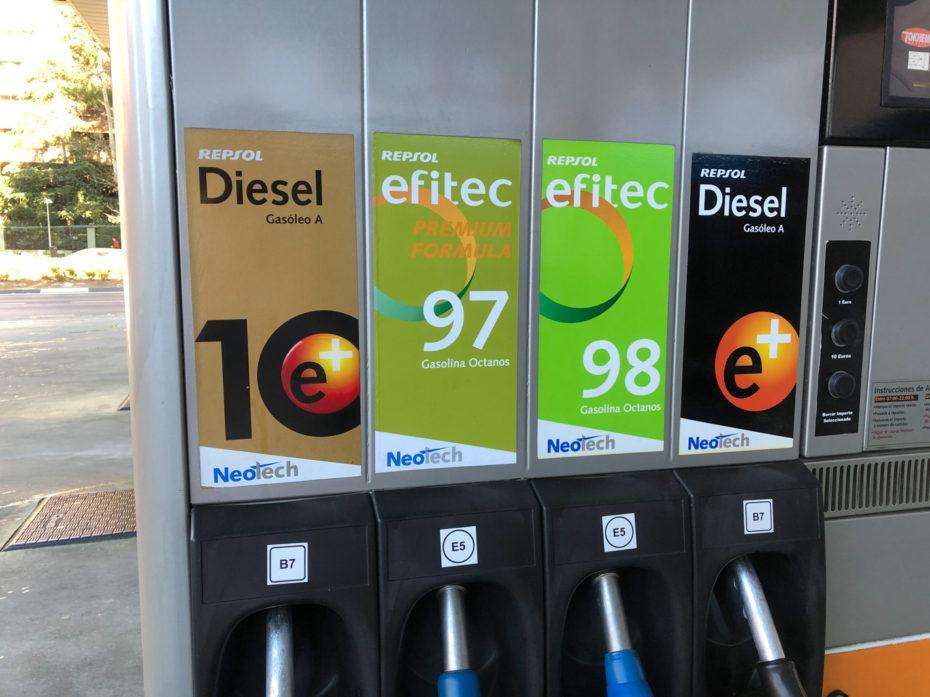 Gasolina 95 0 98  1.2 puretech 130 cv gasolina Gasoli10
