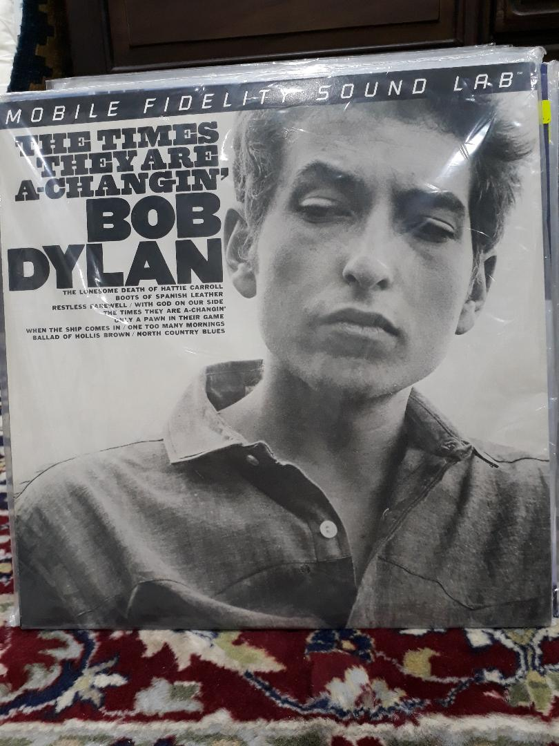 Bob Dylan/The Times They Are A-Changin' LP Bob_dy12