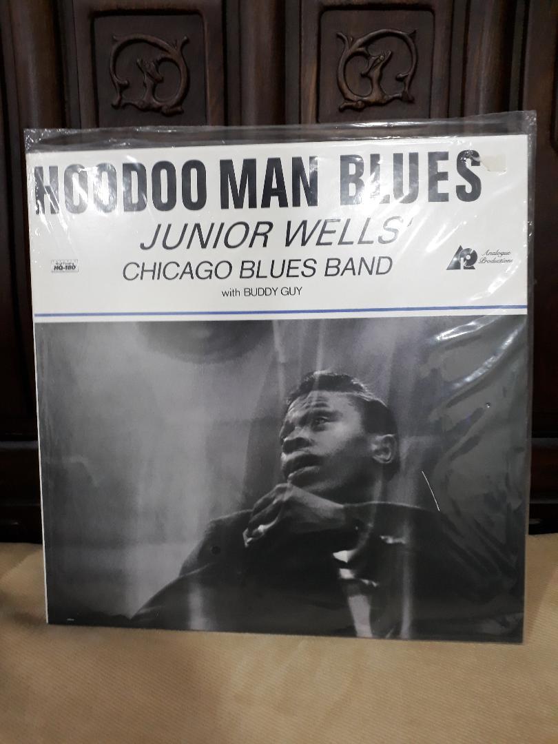Junior Wells' Chicago Blues Band/Hoodoo Man Blues LP Junior10