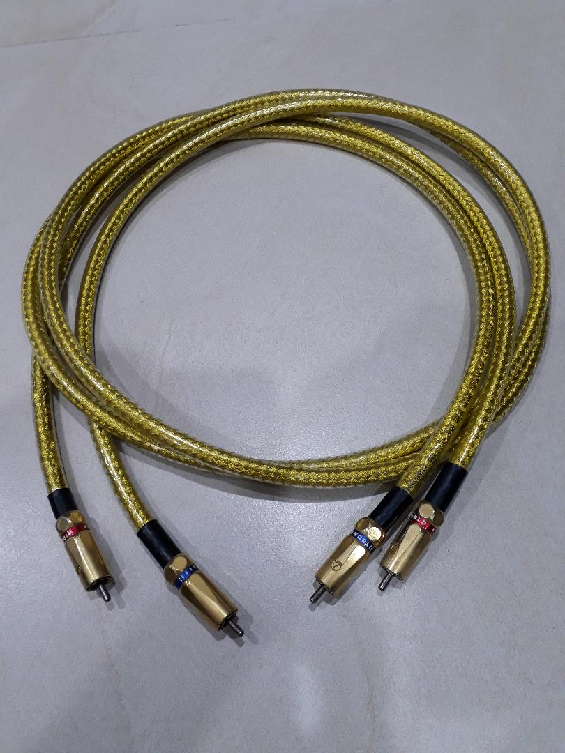 (Sold) Wireworld Gold Eclipse 5 RCA Interconnect, 1.5M, preowned Wirewo10