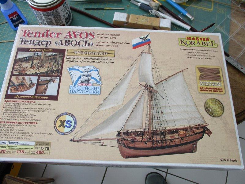Avos - Cotre de 1806 - 1/72e - Master Korabel Avos_010
