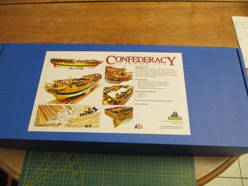 USF Confederacy au 1/64e - Model Shipways par Fred P. Confed10