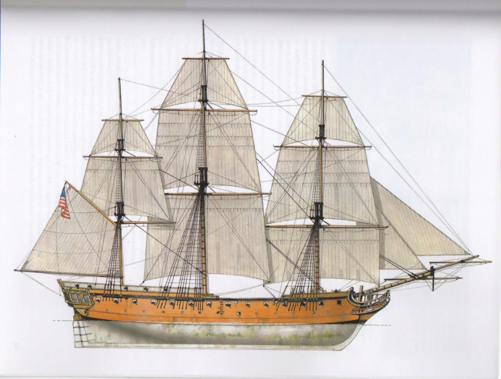 USF Confederacy au 1/64e - Model Shipways par Fred P. Confed15