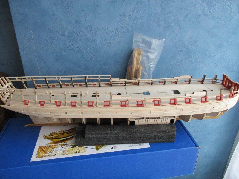 USF Confederacy au 1/64e - Model Shipways par Fred P. - Page 3 Confed53