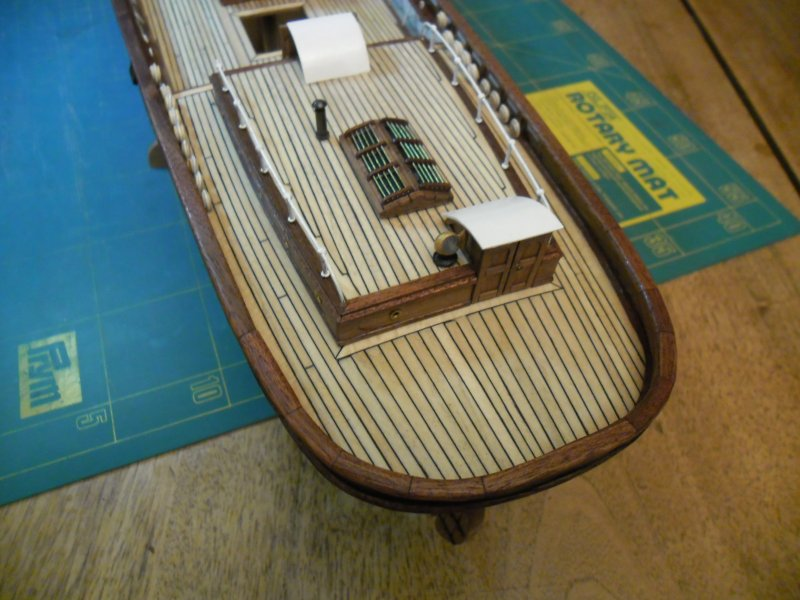 Cutty Sark au 1/84e - Artesania Latina par Fred P. - Page 6 Cutty-74