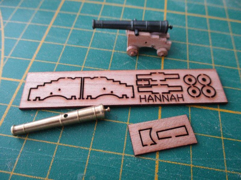 USS Hannah - 1/48e - ZHL Model par Fred P. - Page 5 Hanna135